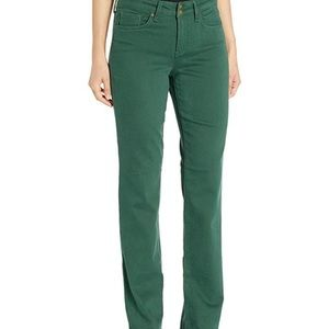 NYDJ Marilyn Straight Pants Green 18 New